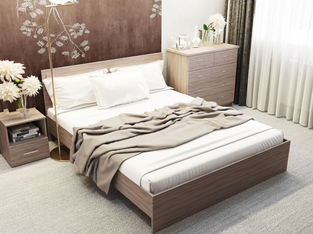 Кровать без основания Sanvut КШС1600